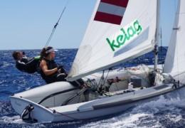 3. Platz für Rosa Donner im Olympischen 470er