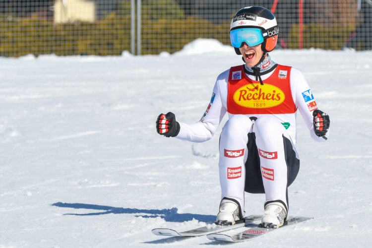 Erster Alpencup Sieg