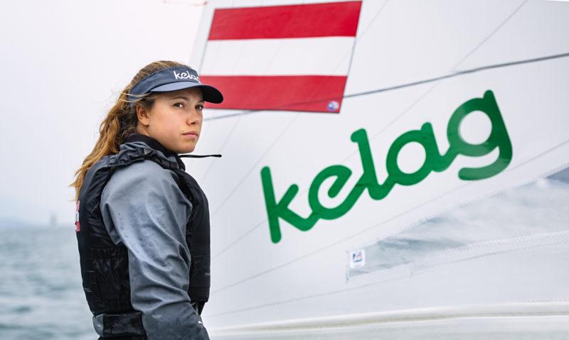 Rosa Donner im OeSV Segel-Nationalteam für Olympia 2024
